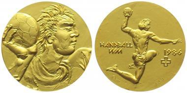 1986 Hans Erni | Handball Weltmeisterschaft