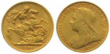 Grossbritannien Sovereign 1898
