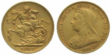 Grossbritannien Sovereign 1893