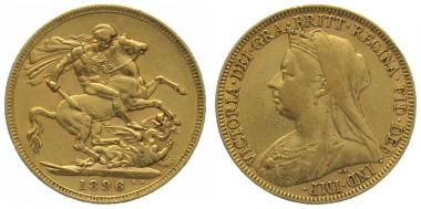 Grossbritannien Sovereign 1896