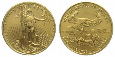 USA 5 $ 2017 Golden Eagle